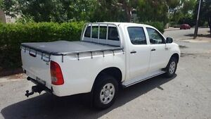 2007 Toyota Hilux KUN26R 07 Upgrade SR (4x4) 4 Speed Automatic Dual Cab Pick-up Kent Town Norwood Area Preview