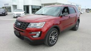 2017 Ford Explorer Sport, 3.5L Ecoboost 365Hp, LOADED