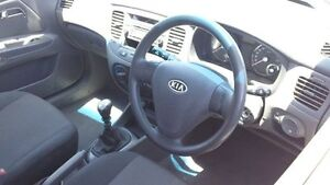 2007 Kia Rio JB MY07 LX Red 5 Speed Manual Hatchback Victoria Park Victoria Park Area Preview
