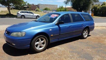 2003 Ford Falcon SR6 Blue Automatic Wagon