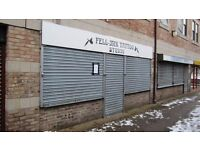 455 sq ft shop with upstairs space, available for immediate let / sale Only ��80 per week, incentives