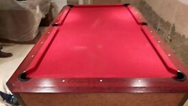 amerian 8ft pool table - Chris and Co