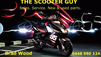 The scooter guy on holiday closed