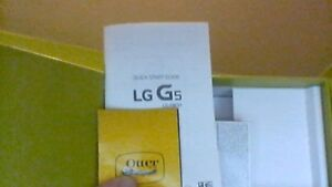 LG G5 brand new 2 months ago with otterbox case screen