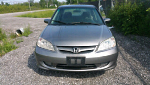 2004 HONDA CIVIC AUTOMATIC WITH SAFETY