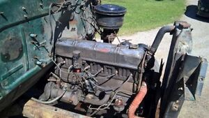 1951 Chevrolet 3100 pick up motor and transmission