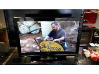 "32"" sanyo tv with built in freeview also hd"