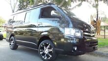 2012 Toyota Hiace 4wd Low Roof Black Automatic Wagon Burwood Burwood Area Preview