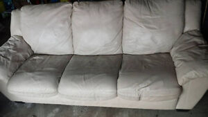 Leather Couch & Loveseat - moving, make me an offer!