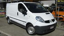2009 Renault Trafic L1H1 2.0 DCI SWB White 6 Speed Automatic Van Homebush Strathfield Area Preview