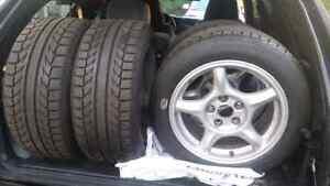 Mazda RX7 FD wheels with BF Goodrich Sport comp 2s   Kitchener / Waterloo Kitchener Area image 3
