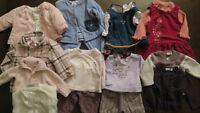 Lot de vêtements pour fille 3-6 mois