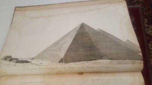 1802 Denon Atlas of Egypt Containing Maps, Views Napoleon
