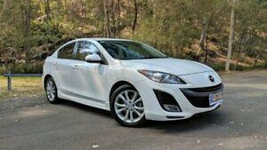 2011 Mazda 3 BL10L1 MY10 SP25 White Semi Auto Sedan Springwood Logan Area Preview