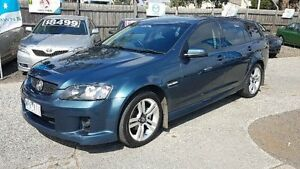2008 Holden Commodore VE MY09 SV6 Blue 5 Speed Automatic Sportswagon Maidstone Maribyrnong Area Preview