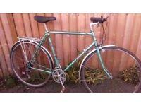 Falcon Cotswold bike commuter/tourer size 59cm/Medium Reynolds 531 frame and serviced