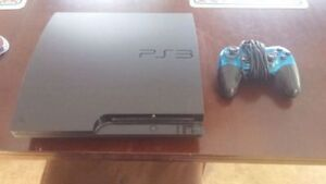 PS3 Slim With 160 GB Hard Drive And 2 Games