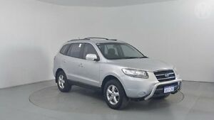 2009 Hyundai Santa Fe CM MY09 Upgrade SX CRDi (4x4) Sleek Silver 5 Speed Automatic Wagon Perth Airport Belmont Area Preview