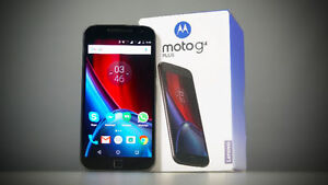 Unlocked Moto G4 Plus 32gb Mint New in Box with Full Warranty