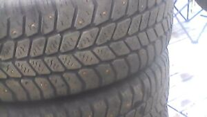 Set of 4 winter tires 195/65/15