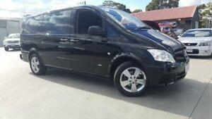 2012 Mercedes-Benz Vito 639 MY11 113CDI Black 5 Speed Automatic Wagon Dandenong Greater Dandenong Preview