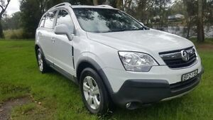 2010 Holden Captiva CG MY10 5 (FWD) White 5 Speed Manual Wagon Tuggerah Wyong Area Preview
