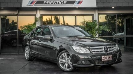 2011 Mercedes-Benz C200 W204 MY11 BE Black 7 Speed Automatic G-Tronic Sedan Bowen Hills Brisbane North East Preview