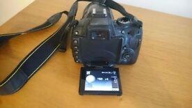 Nikon D5000 and Samsonite Camera Bag. Perfect condition!