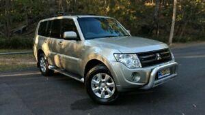 2013 Mitsubishi Pajero NW MY13 GLX-R Gold Semi Auto Wagon Springwood Logan Area Preview