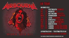 2 TICKETS TO AIRBOURNE GIG