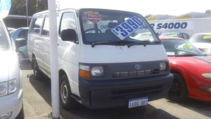 1997 Toyota Hiace RZH113R LWB White 5 Speed Manual Van Victoria Park Victoria Park Area Preview