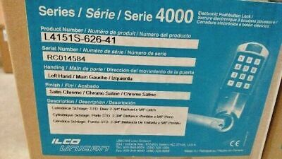 Kaba Simplex Ilco L4151s-626-41 Nos 4000 Series Schlage Lfic Lcore