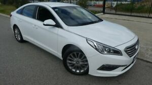 2017 Hyundai Sonata LF3 MY17 Active Crystal White Pearl 6 Speed Sports Automatic Sedan Bassendean Bassendean Area Preview