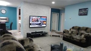 Stacked Townhse W/ Fin'd Bsmnt In Erindale For Sale!!