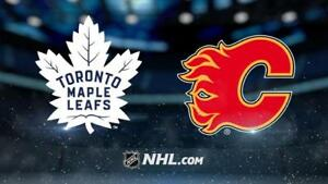 Premium tickets for Flames vs Leafs game - November 28th