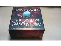 THE LAND OF PAINTED CAVES-JEAN M AUEL-25 x CD'S BOX SET-UNABRIDGED AUDIO BOOK