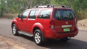 2011 Nissan Pathfinder R51 MY10 ST-L Red 5 Speed Sports Automatic Wagon