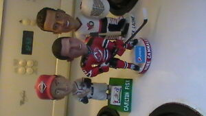 3 Bobble Heads Cammalleri Lalime & Fisk Kitchener / Waterloo Kitchener Area image 4