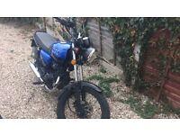 125cc Retro Motorbike, WK RT125
