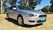 2010 Mitsubishi Lancer CJ MY10 ES Silver 6 Speed Constant Variable Sedan Tanunda Barossa Area Preview