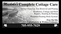 Muskoka Cottage Tree removal and Property Services