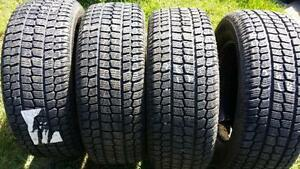 Four Firestone Firehawk PVS 16 inch tires