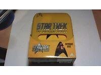 STAR TREK ORIGINAL SERIES COMPLETE SEASON ONE IN SPECIAL YELLOW PLASTIC BOX