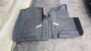 Selling 2 front all weather mats for chevrolet silverado 2014-16