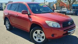 2007 Toyota RAV4 ACA33R CV Red 5 Speed Manual Wagon Bungalow Cairns City Preview