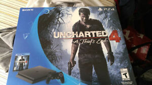 BRAND NEW PS4 SLIM UNCHARTED 4 GAME BUNDLE