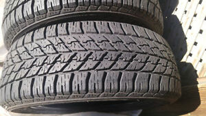 205 55 16 x 2 'GOODYEAR ICE ULTRAGRIP', U.S.A , 22,000KMS, $78.0