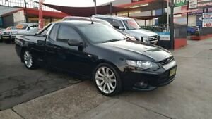 2013 Ford Falcon FG MkII XR6 Ute Super Cab Black 6 Speed Sports Automatic Utility Lidcombe Auburn Area Preview