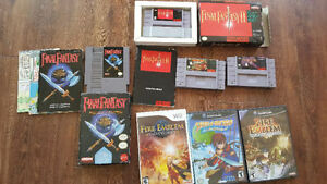 Final fantasy 2 CIB Final fantasy 3 au snes skies of arcadia