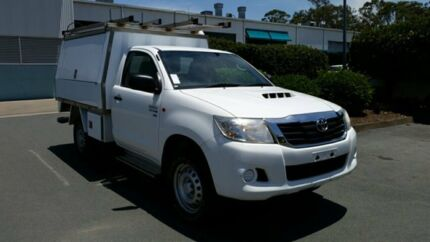 2014 Toyota Hilux KUN26R MY14 SR Glacier 5 Speed Manual Cab Chassis Acacia Ridge Brisbane South West Preview